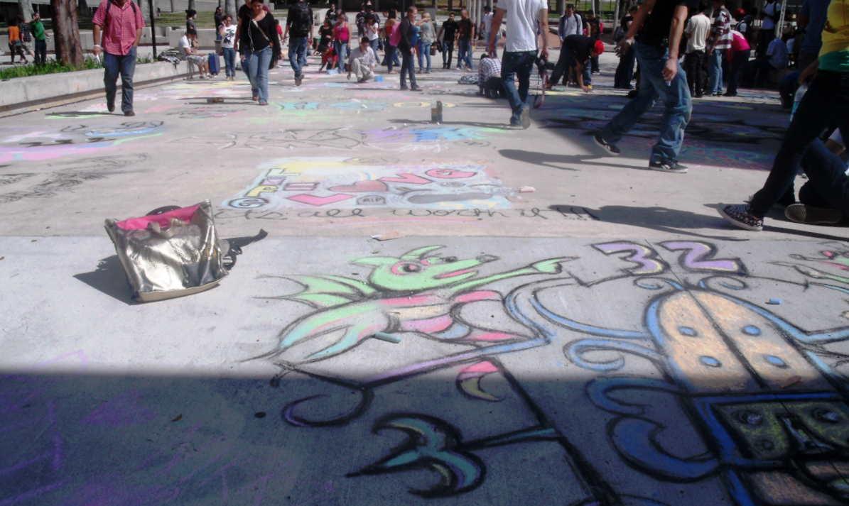 Sidewalk Artistry