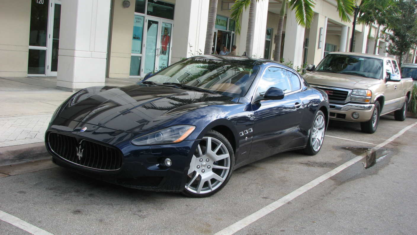 Maserati, with a Trident