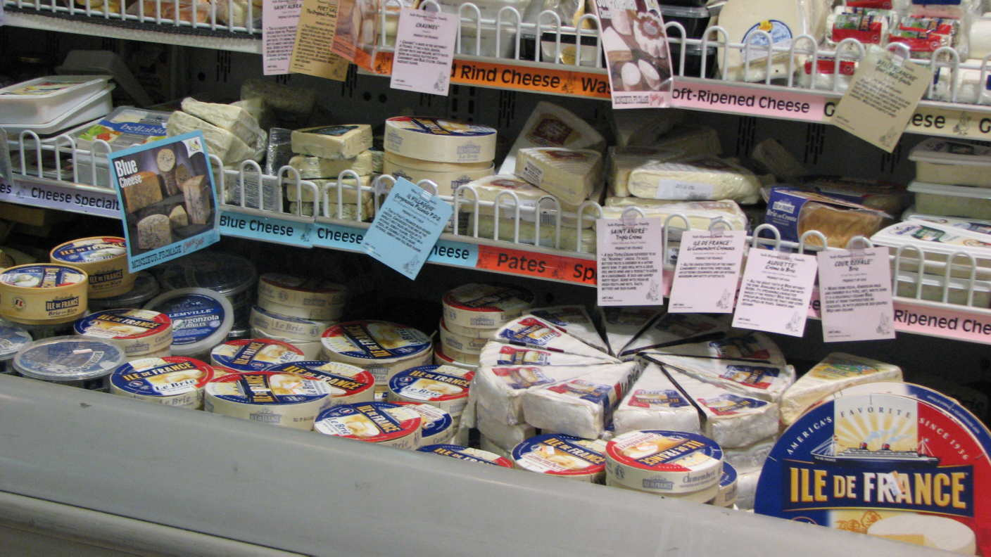 Le Camembert, Le Fromage
