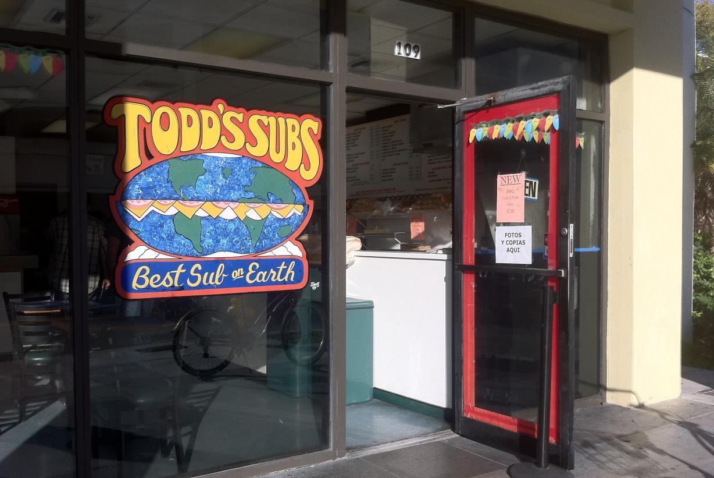 Todd's Sub