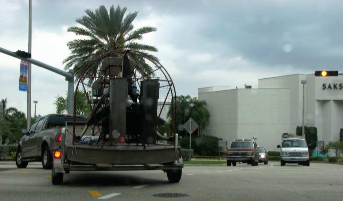 Dry Airboat