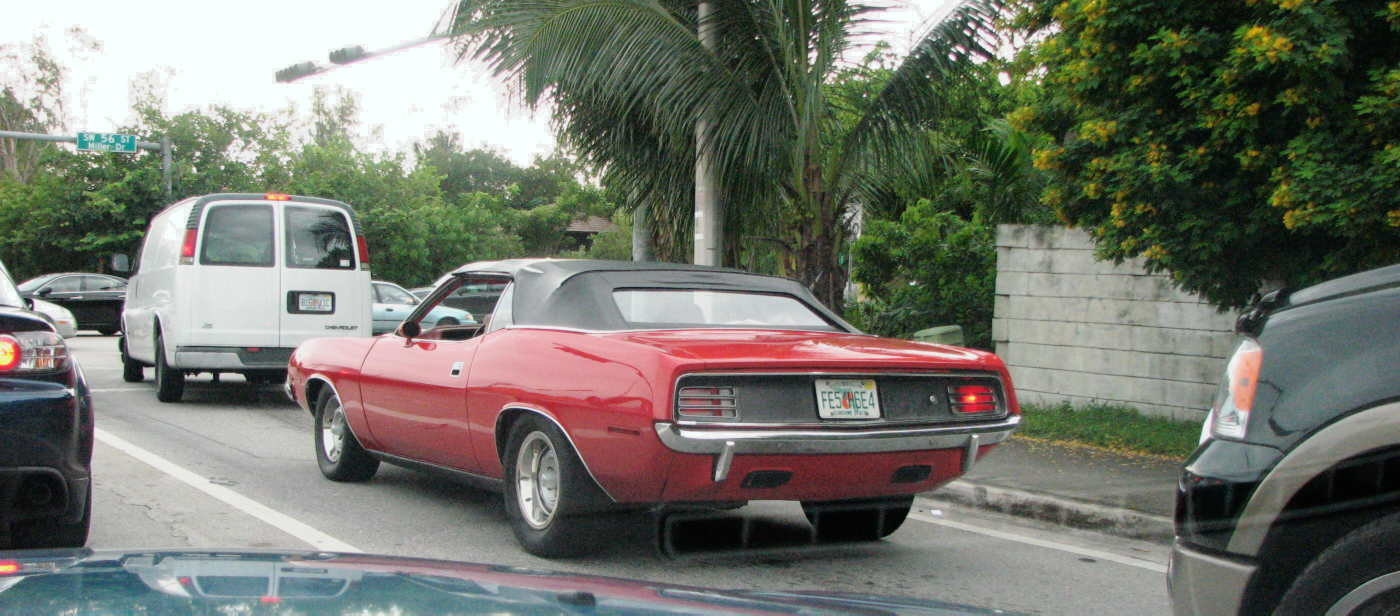 Miami Every Day Photo: Challenger no, Cuda si
